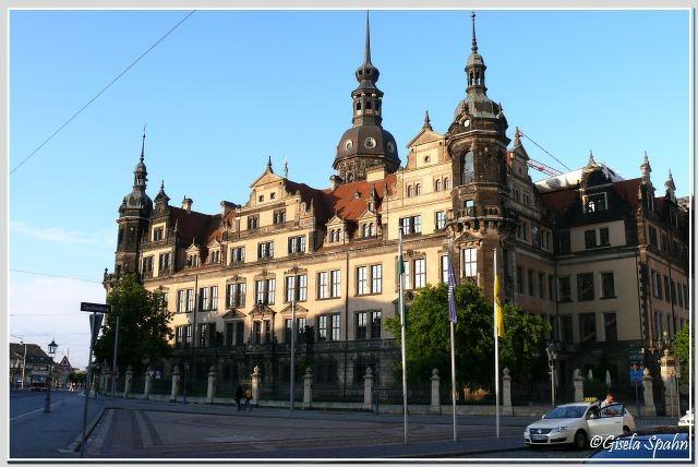 Westflügel (Moritzbau) des Residenzschlosses