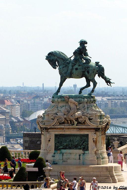 Reiterdenkmal Prinz Eugen auf dem Burgberg