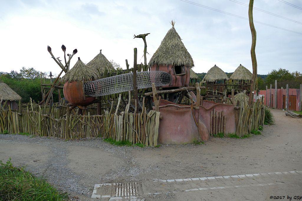 MAKATANDA (afrikanisches Baumhausdorf)