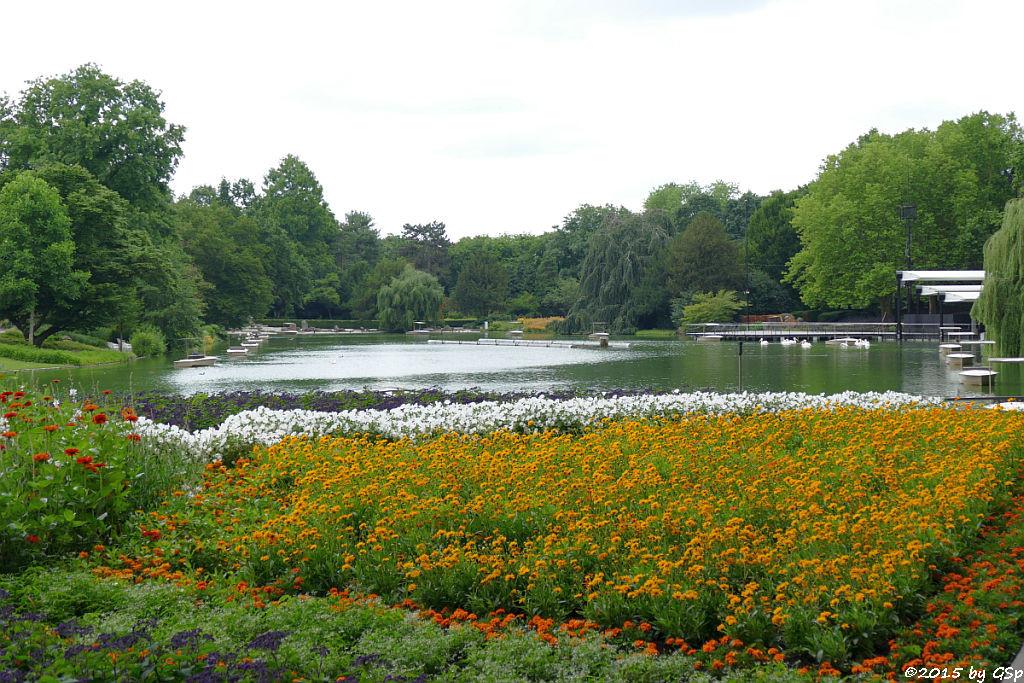 Stadtgartensee mit Gondoletta
