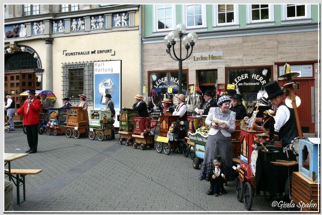 Anlässlich des Krämerbrunnenfestes gab es auch dies: