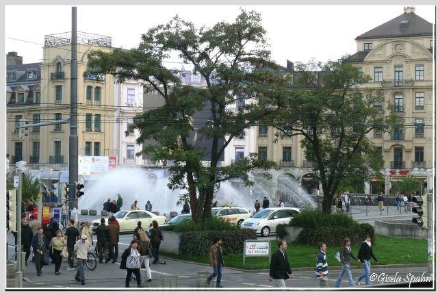 Der Stachus (Karlsplatz)