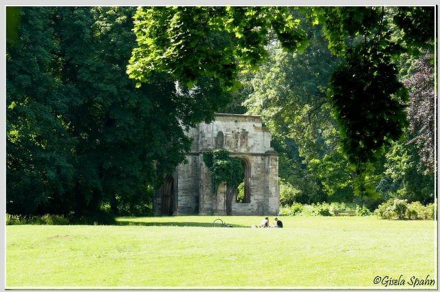 Tempelherrenhaus-Ruine