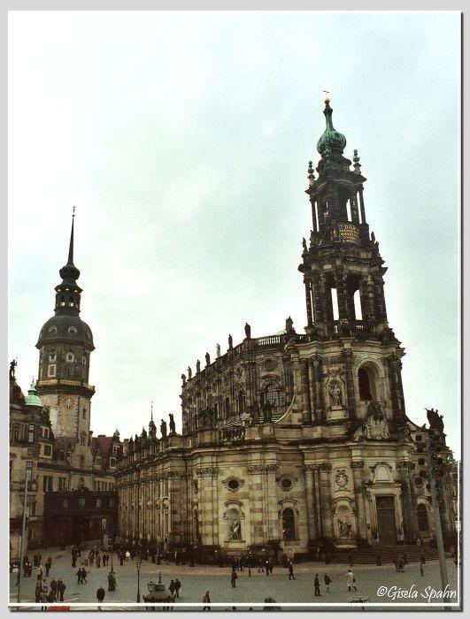 Kathedrale St. Trinitatis (Kath. Hofkirche)