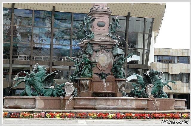 Der Mendebrunnen