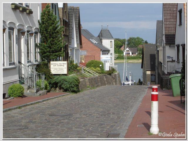 Kappeln: Blick auf die Schlei und hinüber nach Ellenberg