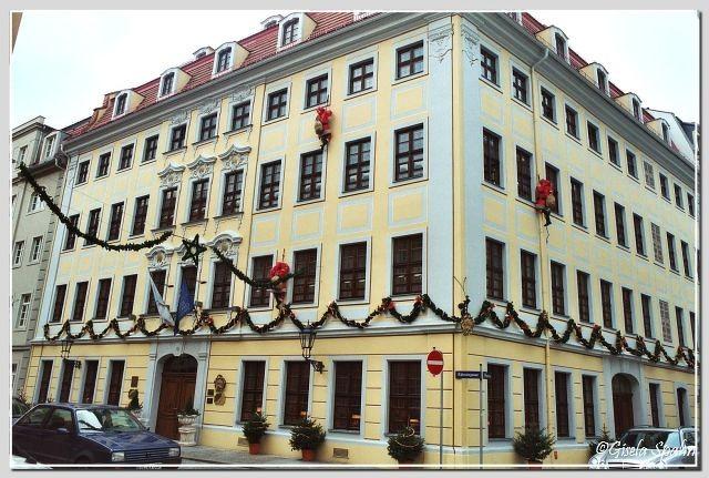 Innere Neustadt - Rähnitzstr. 19 c. (1730), heute Hotel Bülow Residenz