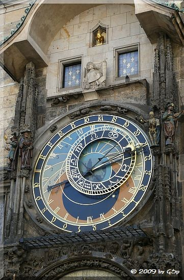 Die astronomische Uhr am Altstädter Rathaus