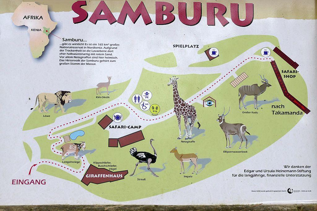 Afrika-Anlage SAMBURU