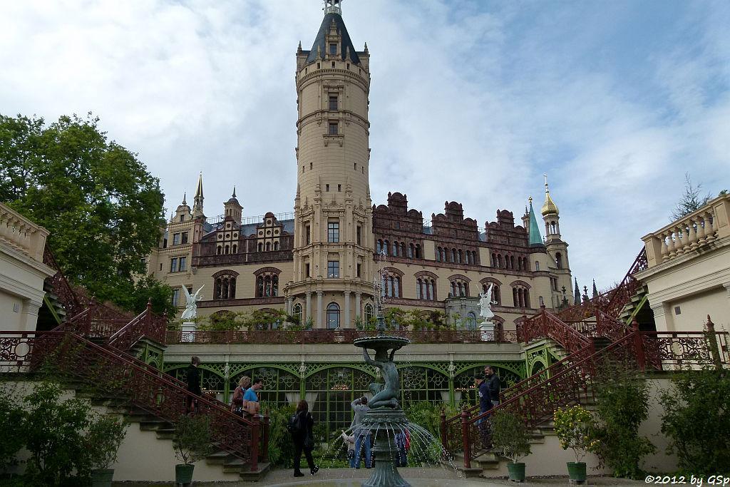 Schweriner Schloss, Burggarten (Orangerie)