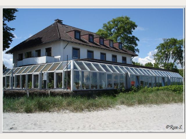 Das ehemaliver Strandhotel in Eckerförde (Drehort für das Hotel von Hanusch)