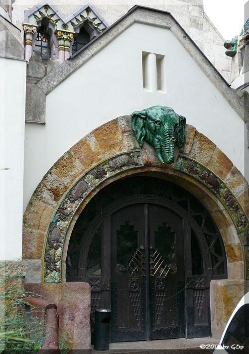 Eingang Elefantenhaus