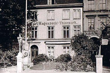 """Der erste """"Thierpark"""" entstand am Neuen Pferdemarkt in Hamburg"""