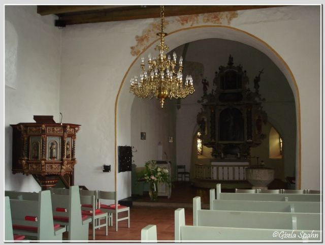 In der Nikolaikirche in Eckernförde