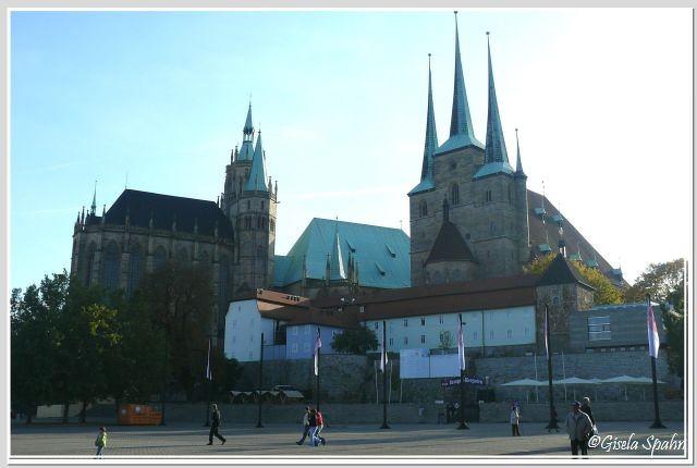 Dom und Severinkirche