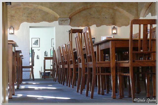 ehem. Klassenzimmer in der alten Nikolaischule (1568)