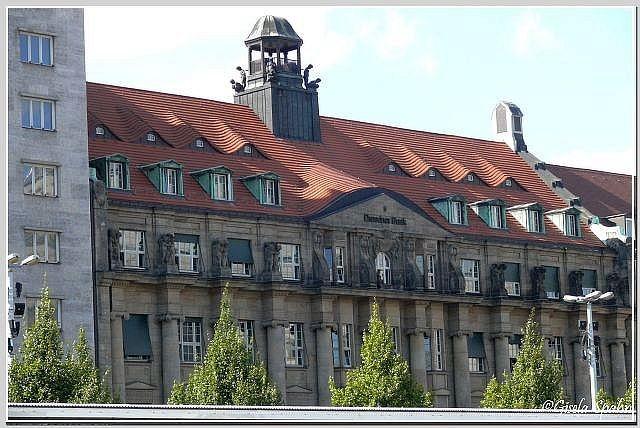 Die Dresdner Bank am Augustusplatz