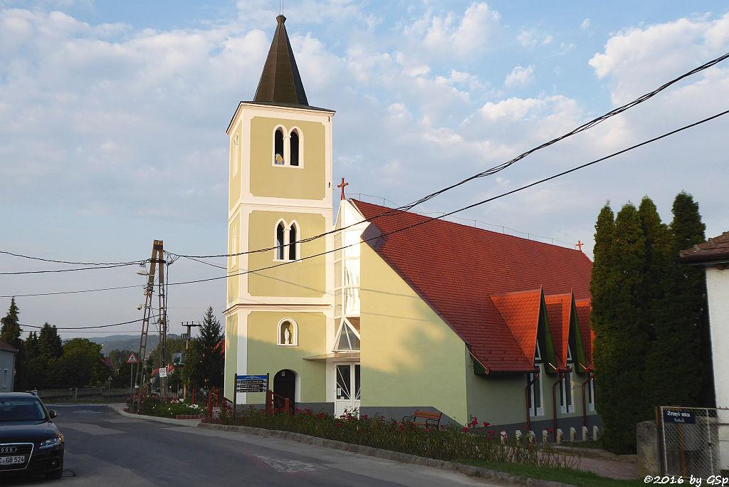 Herz Jesu Kirche in Egregy