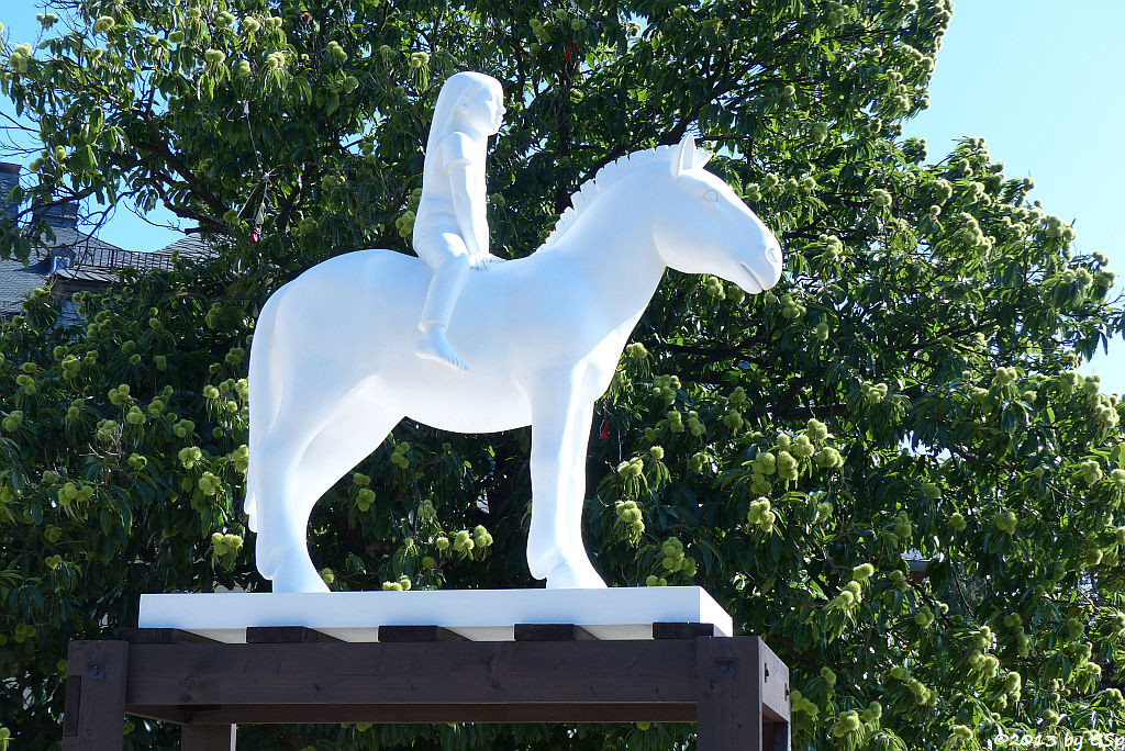 Horse and Rider (Plinth Trial), Kenny Hunter