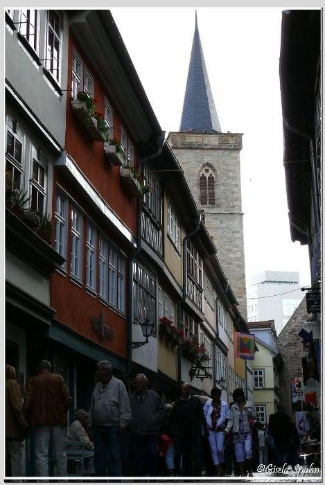 Krämerbrücke und Ägidienkirche