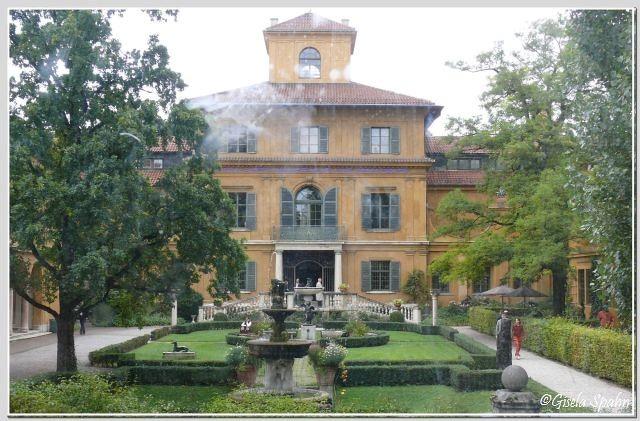 einst Künsterresidenz: Das Lenbachhaus