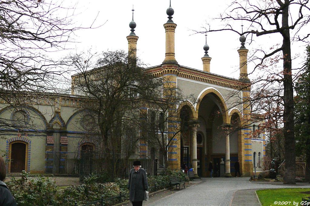 Eingang zum Antilopenhaus