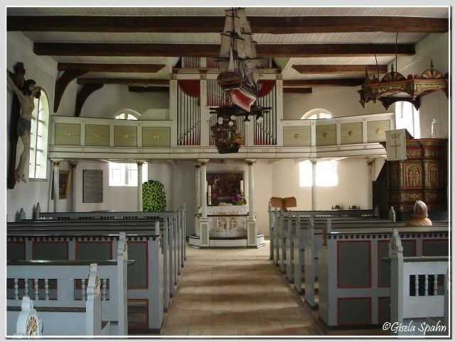 In der Fischerkirche in Arnis