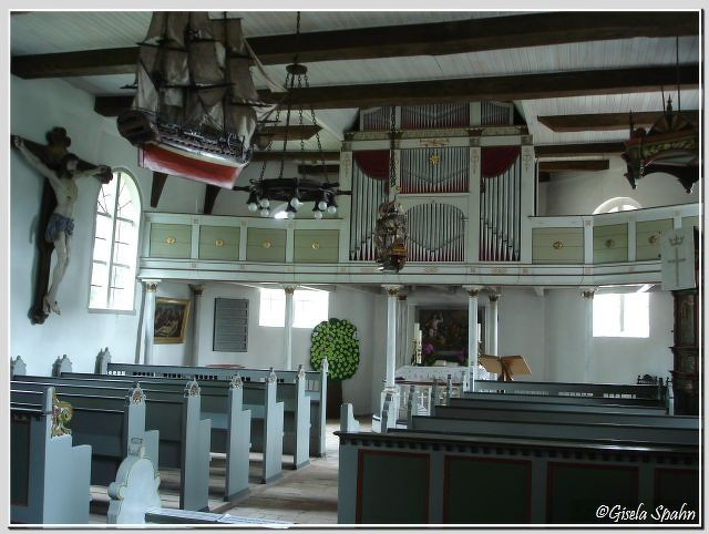 In der Fischerkirche in Arnis