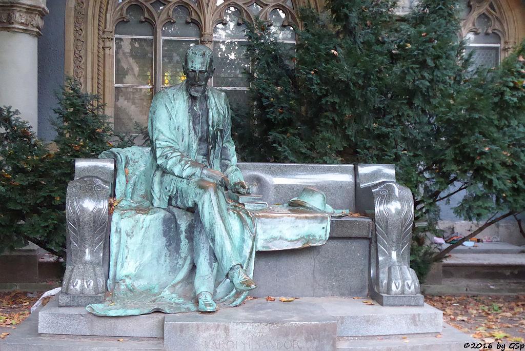 1903 von Miklós Ligeti geschaffene Graf Károly Sándor Statue