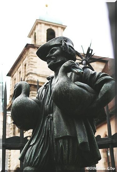 Gänsemännchenbrunnen