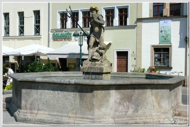 Neptunbrunnen am Marktplatz