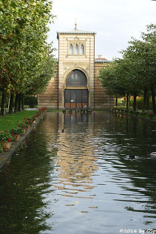 Langer See, Damaszenerhalle
