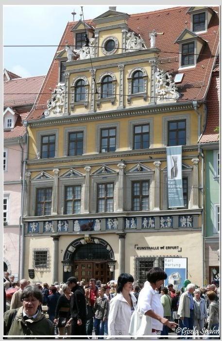 Fischmarkt: Haus zum Roten Ochsen erb. 1562
