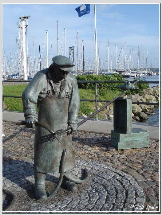 Maasholm: Peter Aal, das Wahrzeichen von Masholm