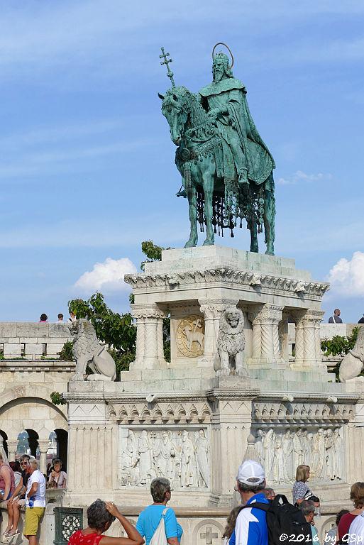 Reiterdenkmal des heiligen Stephan