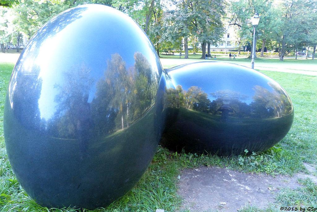 Twist 2012 (schwarzer Granit), Masayuki Koorida