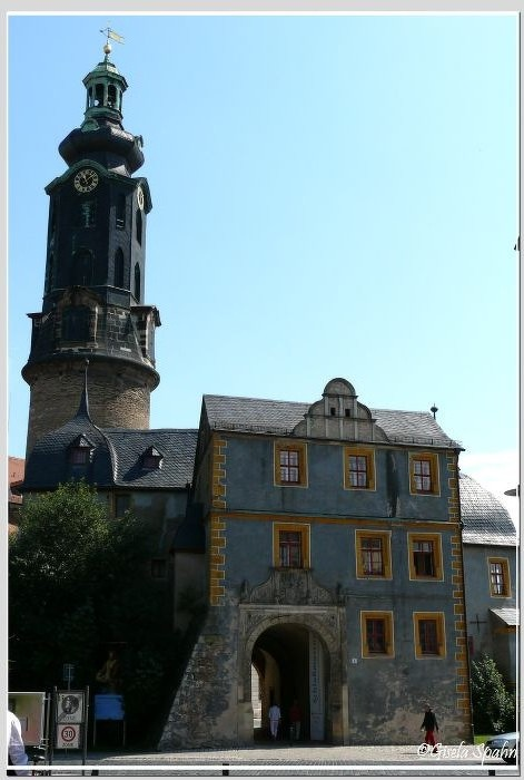 Residenzschloss, Schlossturm und Bastille