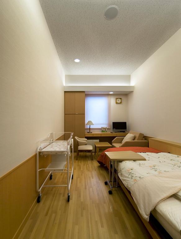 落ち着きのある個室病室