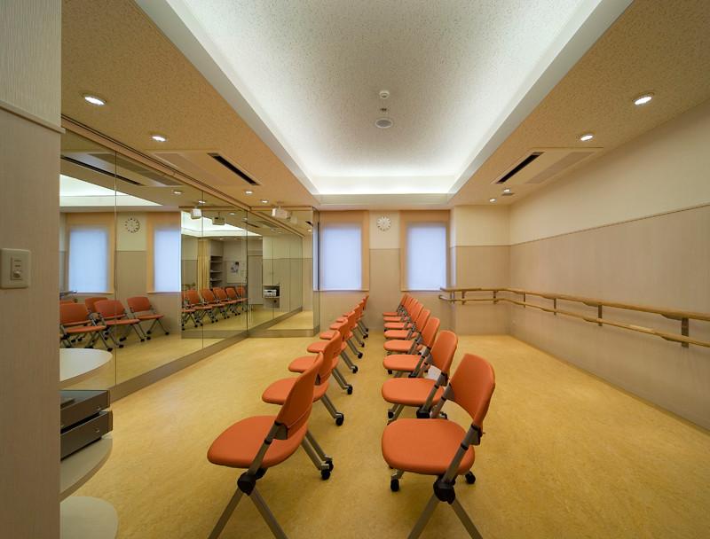 マタニティバレイ等 さまざまな教室が可能なマタニティルーム