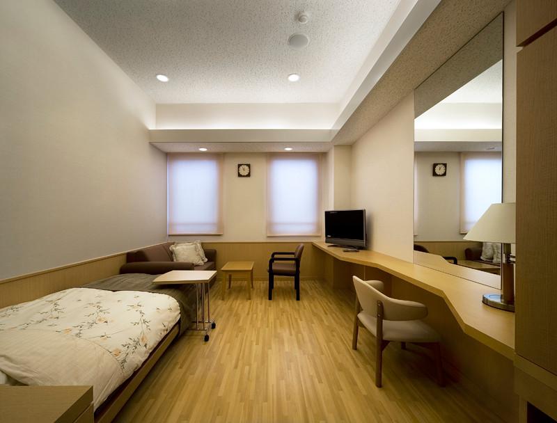 癒しの空間を演出する個室病室