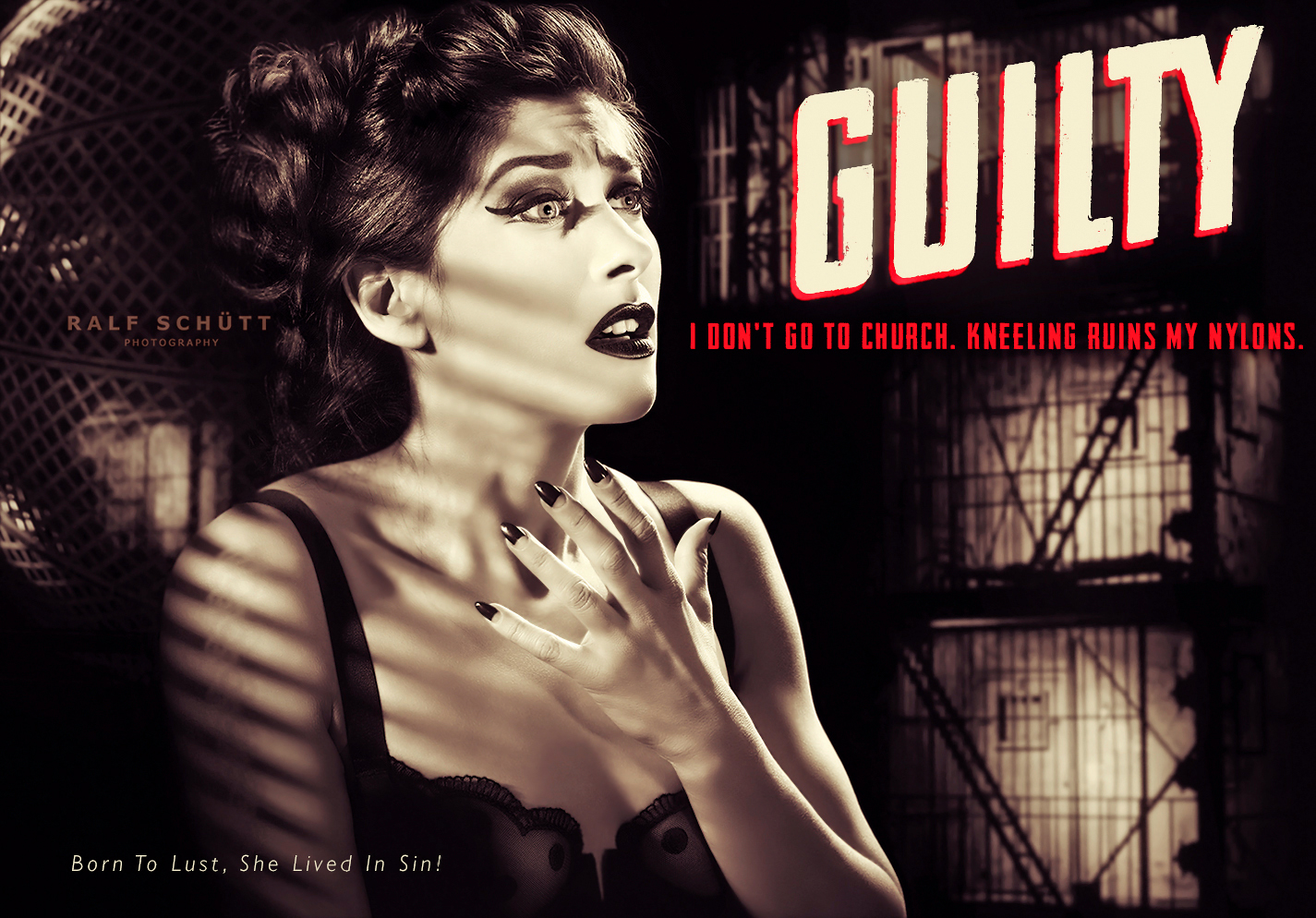 Louise de Ville - Pulp Fiction Cover © Ralf Schütt Photography