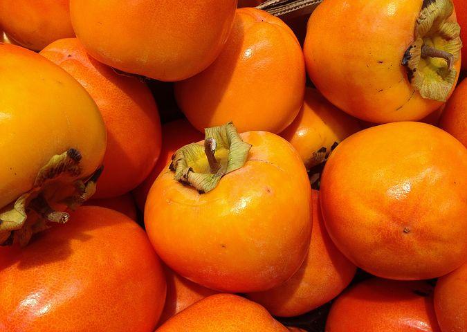 Kaki,Diospyros,Früchte,Frutas,Fruit,Martins-Kulinarium,Carvoeiro,Algarve,Portugal