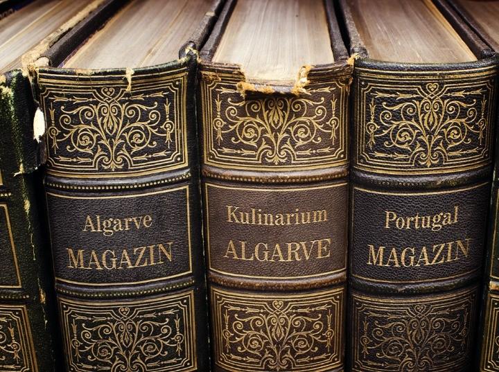 Bücher und Autoren Informationen der Algarve, Portugal
