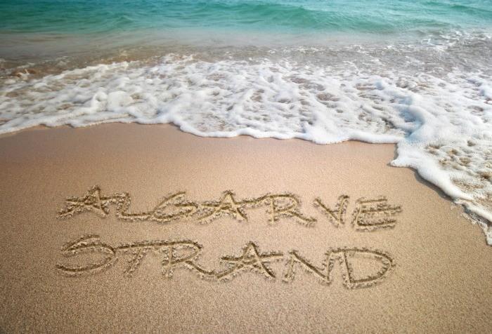 Strände Informationen der Algarve, Portugal