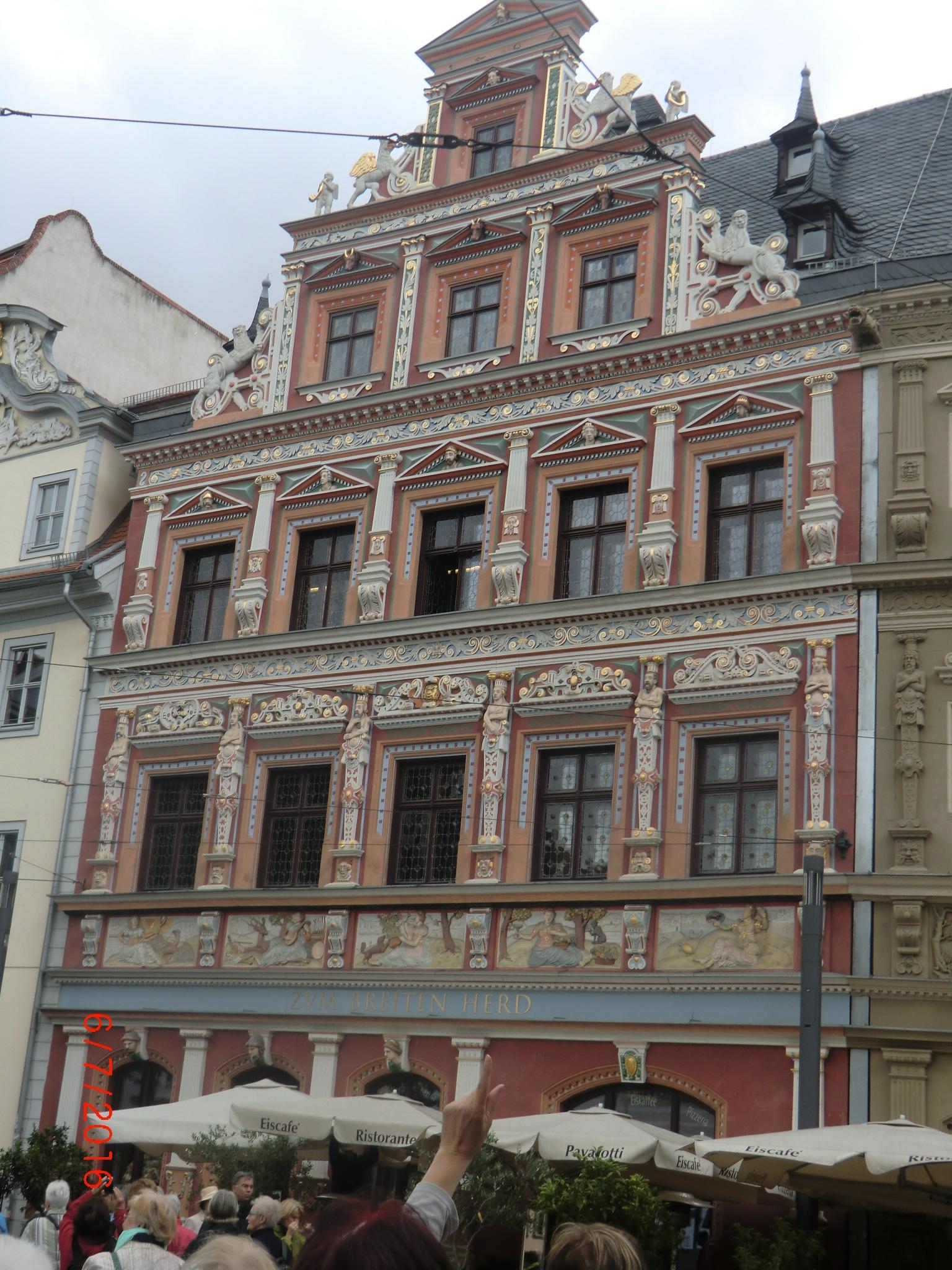Giebel in Erfurt