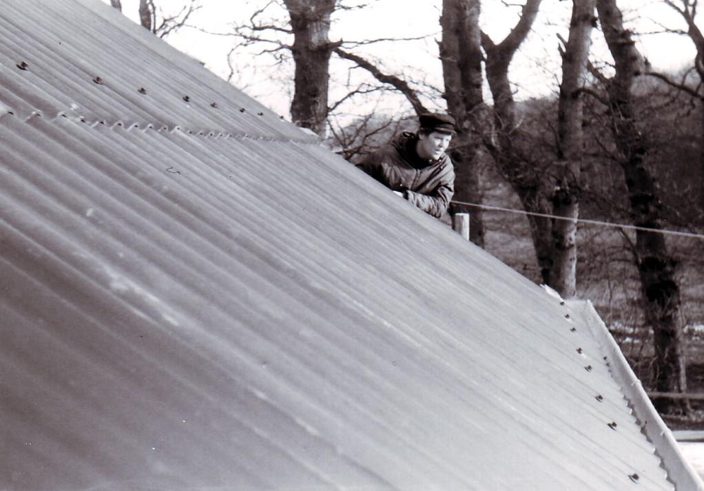 Das Dach ist fast dicht