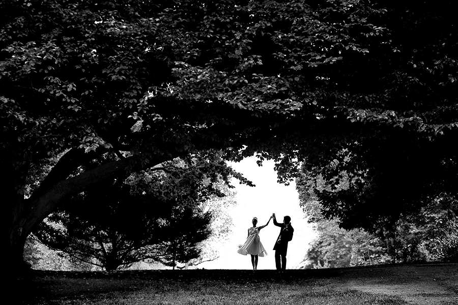 Kreative Hochzeitsfotos Villa Rothschild