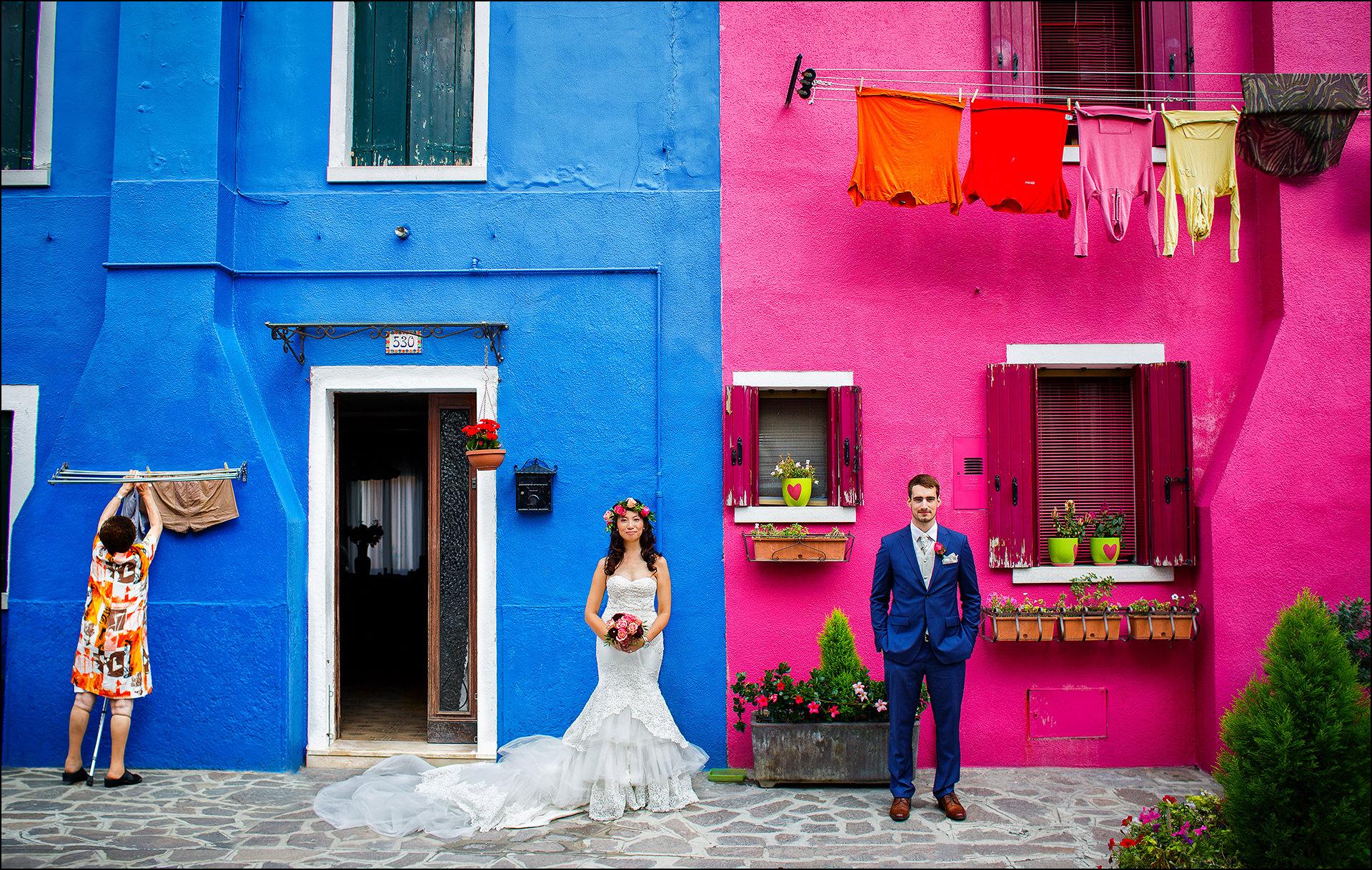 Besondere Hochzeitsfotos Venedig