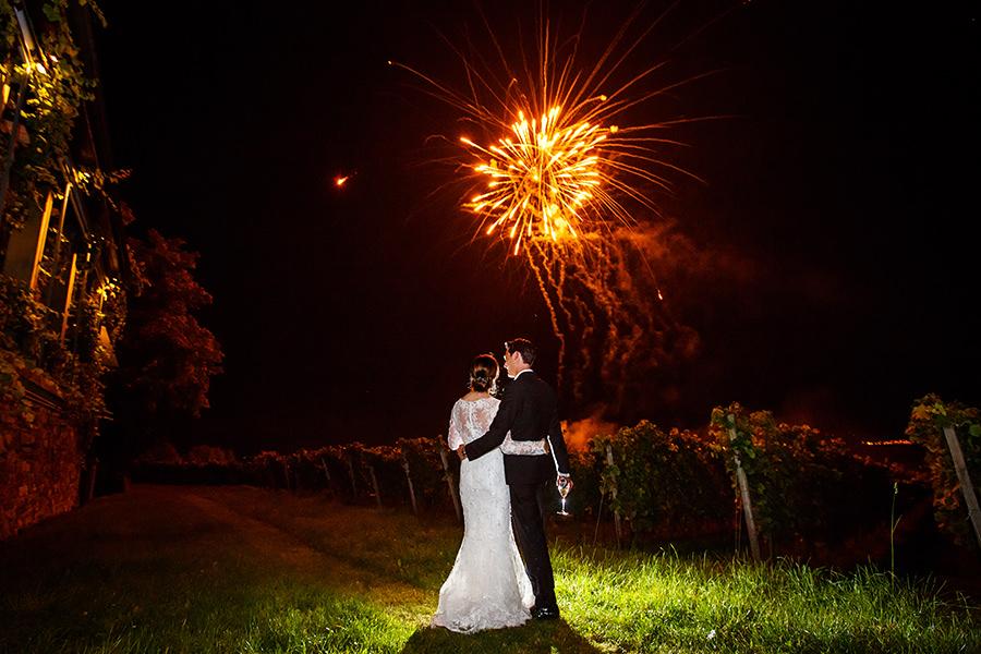 Feuerwerk Hochzeit Burg Schwarzenstein