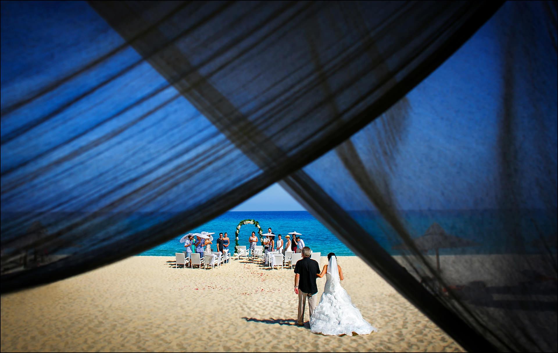Trauung am Strand Sardinien